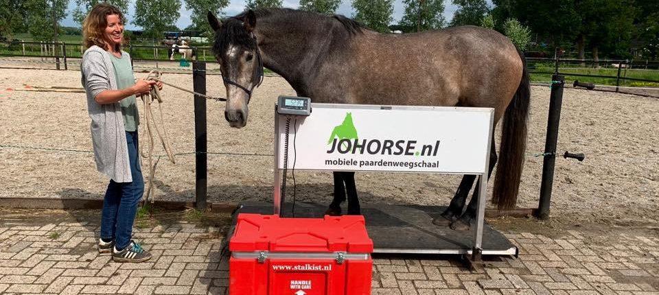 UW mobiele paardenweegschaal, de paarden meter van johorse adviseert
